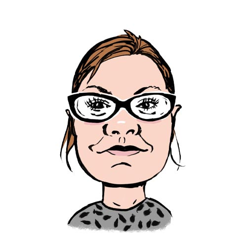 Laura Nelson A.C. Wilgar service administrator caricature