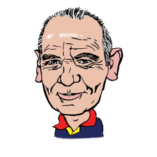 Stuart Gleeson A.C. Wilgar plumbing supervisor caricature