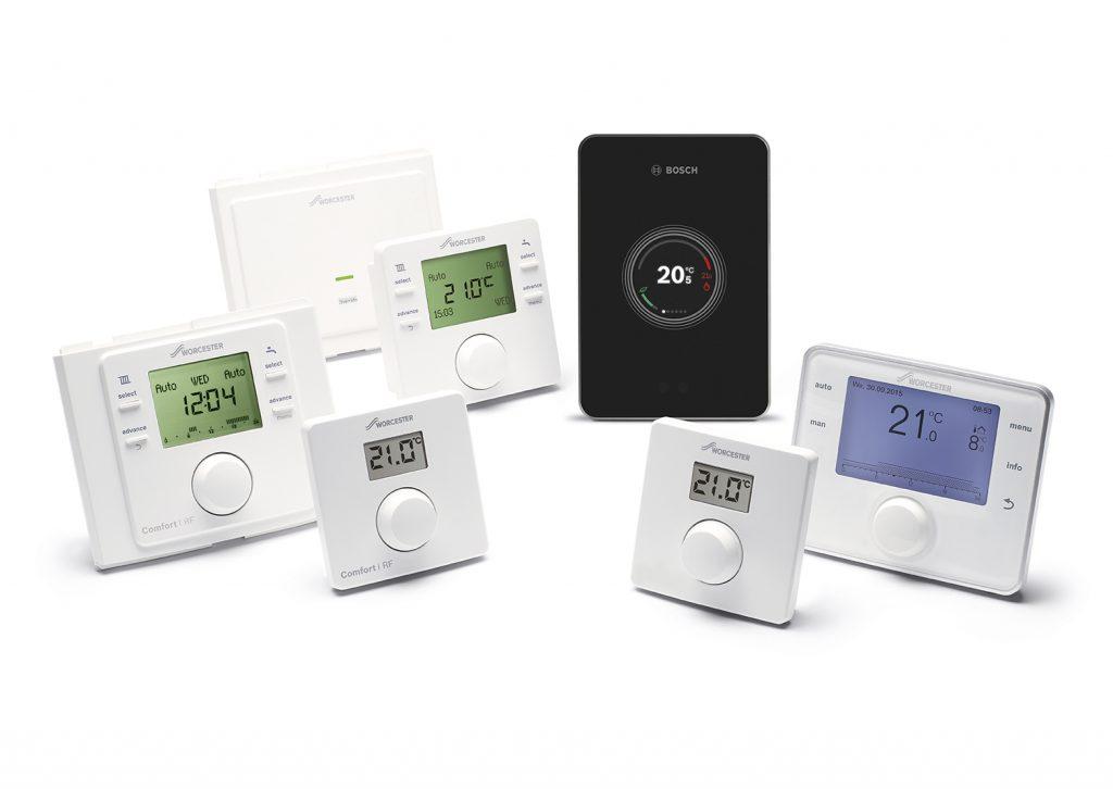 Worcester Bosch intelligent easy smart controls