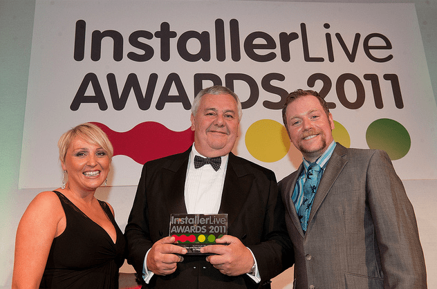 A.C. Wilgar wins Installer Live Award of the Year 2011 with Rufus Hound